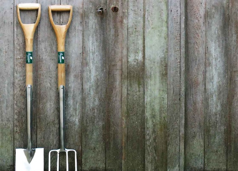 greenman ss spade & fork