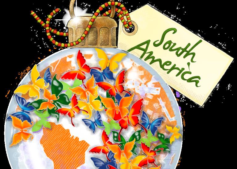 SOUTH AMERICA BALLandTAG