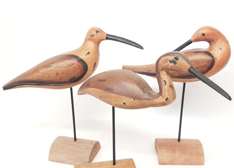 Woden Birds